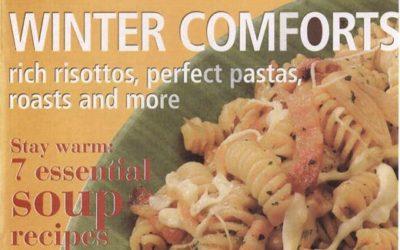 The Magazine of La Cucina Italiana: A White Winter (febbraio 2006)